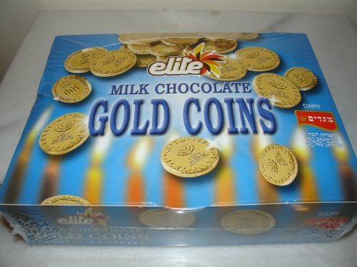 Elite Milk Chocolate Gold Coins Box of 24 Mesh
