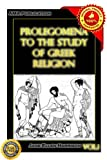 img - for Prolegomena to the study of Greek religion Vol.1 book / textbook / text book