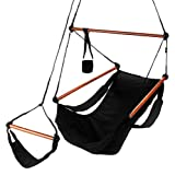 Deluxe Hammock Chair - Midnight Black
