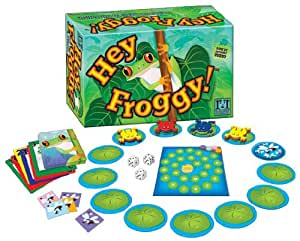 R & R Games Hey Froggy Board Game