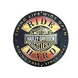 14'' Round Sign - Ride Hard