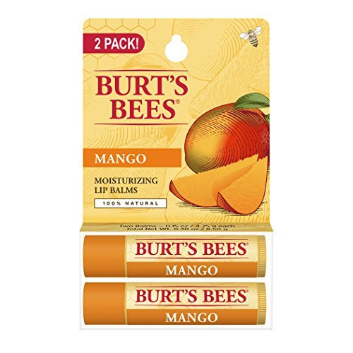 burts-bees-lip-balm-mango-butter-blister-pack-03-ounce-2-count-by-burts-bees