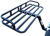 TMS CC-SC1201B-1 500-Pound Excess Steel Cargo Carrier with 2-Inch Hitch Mount Car Suv Luggage Basket