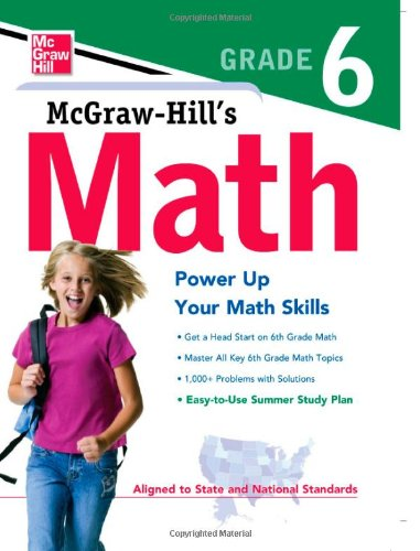 Viewing Mathematics Books  of McGraw Hill's Math Grade 6by McGraw Hill Editors (Feb 14, 2011)