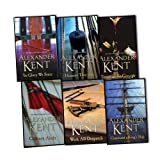 img - for Alexander Kent Richard Bolitho Novels 6 Books Collection Pack Set RRP:  46.94 (With All Despatch, Cross Of St George, Command A King''s Ship, To Glory We Steer, Colours Aloft, Honour This Day) book / textbook / text book