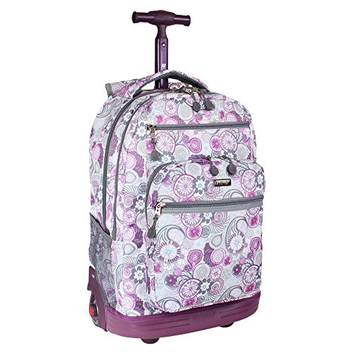 J World New York Sundance Rolling Backpack ... 0cbfe011cb54a