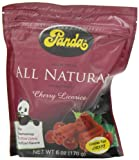Panda Licorice, Cherry Chews, 6-Ounce Bags (Pack of 12)
