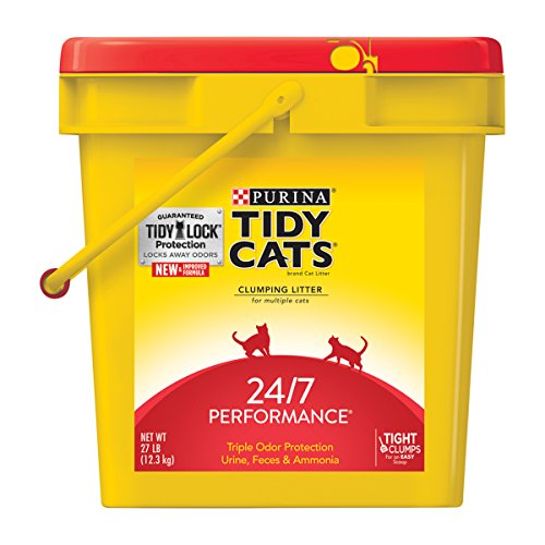tidy-cats-cat-litter-clumping-24-7-performance-27-pound-pail-by-purina-tidy-cats