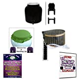 KKamp Continuous Brew Kombucha BREWER ONLY - BK w/ Stand + Year Round Heater + Tee/Cap Set
