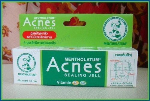 Mentholatum Acnes Prevent Pimple Sealing Jell Vitamin E & B6 Amazing Of Thailand