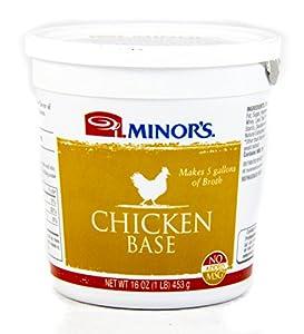 Minor's (Original Formula) Chicken Base - 16 oz.