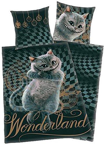 Alice in Wonderland Cheshire Cat Copripiumino multicolore