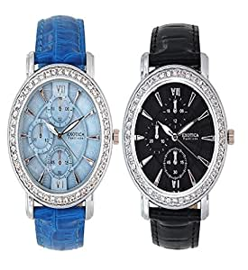 EXOTICA Fashions Combo New  EF 70 Crono 2 Black&Blue available at Amazon for Rs.1097