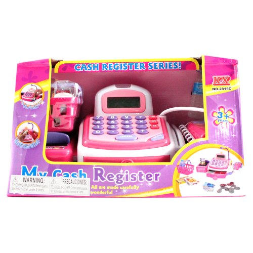 Deluxe Toy Cash Register : Pc deluxe edition pretend play electronic cash