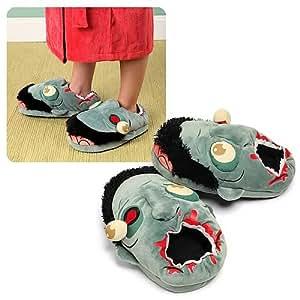 Think Geek Zombie Plush Slippers