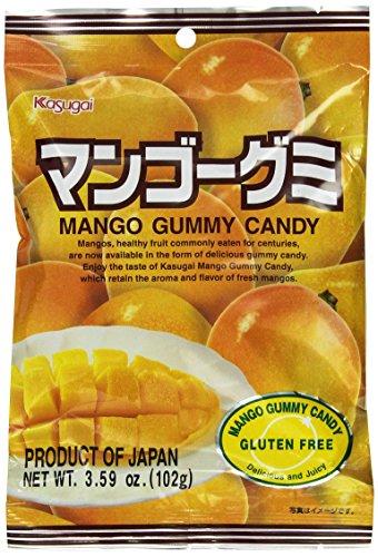 Japanese Fruit Gummy Candy from Kasugai - Mango - 102g (Kasugai Fruit Gummy Candy compare prices)