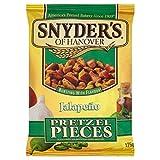 スナイダーのハラペーニョプレッツェル片125グラム (x 6) - Snyder's Jalapeno Pretzel Pieces 125g (Pack of 6) [並行輸入品]