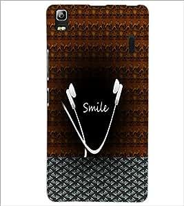 PrintDhaba Smile Design D-4486 Back Case Cover for LENOVO A7000 PLUS (Multi-Coloured)