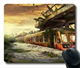 Dumped Subway Sation Oblong Shaped Mouse Mat