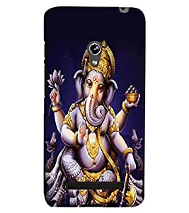 Printvisa Lord Krishna By The Riverside Back Case Cover for Asus Zenfone 5::Asus Zenfone 5 A500CG