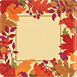 Festive Fall Disposable Plates