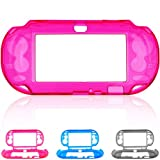 Skque® Protective Crystal Hard Guard Case Cover Shell Skin for Sony PS Vita, Hot Pink