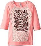 Beautees  Big Girls Light Sweaterknit Top with Owl
