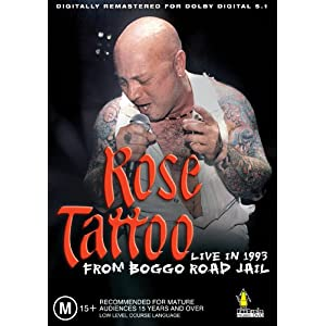 Rose Tattoo – Live from Boggo Road Jail 1993 (DVD)