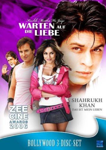 Bollywood DVD-Box Vol. 2 (Khuch meetha ho jaye/Zee Cine Awards 2006/Shahrukh Khan - Das ist mein Leben) - (3 DVDs)