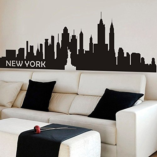 Skyline Wall Decals Like Paintings Easy To Use Funk This House