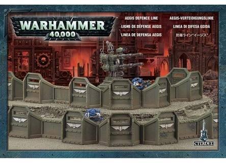Imperial Aegis Defense Line Planetstrike Warhammer 40K