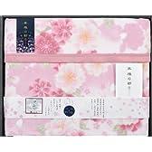 京都西川 泉州産ニューマイヤー綿毛布(毛羽部分) シングル ピンク 07A-CBK-3653