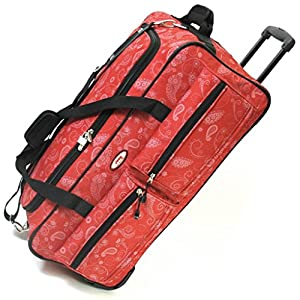Jeep Large 29 Inch Wheeled Luggage Bags - 5 Years Warranty!