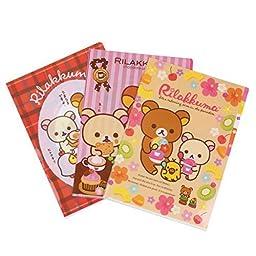 Damara Cute Print Report Covers Letter Size,Assorted 3 Sheets Per Set,A by Damara