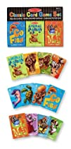 Melissa   Doug Deluxe Animal Card Games