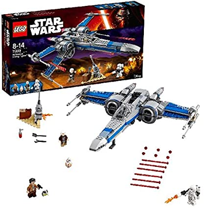 LEGO - 75149 - Star Wars - Jeu de Construction - X-Wing Fighter de la Résistance