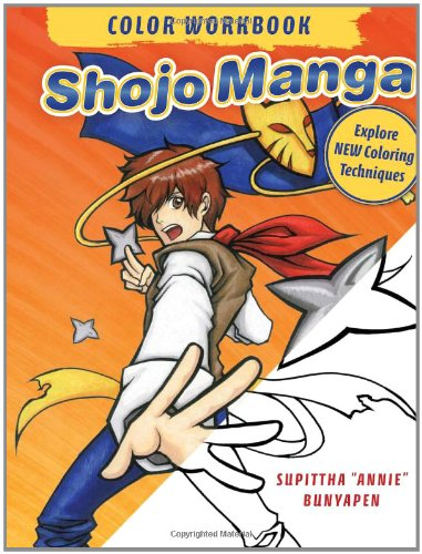 Shojo Manga Color Workbook: Explore New Coloring Techniques