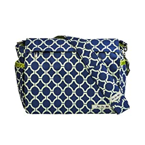 Ju-Ju-Be Better Be Messenger Diaper Bag, Royal Envy by Ju-Ju-Be