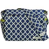 Ju-Ju-Be Better Be Messenger Diaper Bag, Royal Envy (Discontinued by Manufacturer)