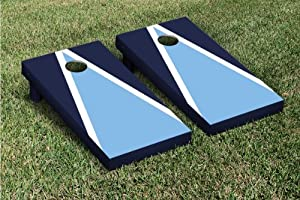 Light Blue & Navy Cornhole Bag Toss Game Set by Victory Tailgate