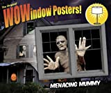 "Menacing Mummy Translucent Window Decorations ""Double Window Design"