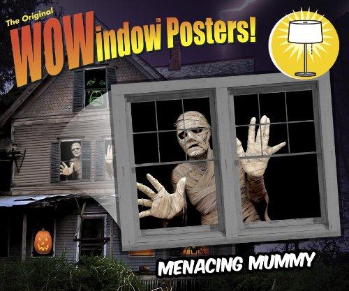 Menacing Mummy Translucent Window Window Design