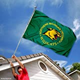 Northern Michigan Wildcats NMU University Large College Flag