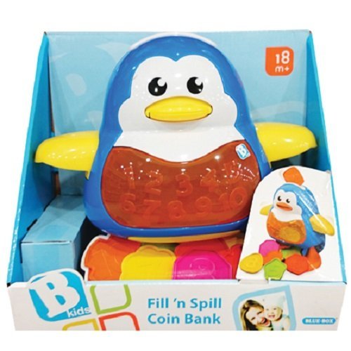 BKids Fill 'n' Spill Coin Bank Toy