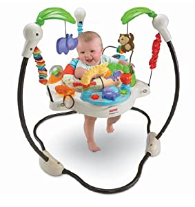 Fisher Price Luv U Zoo Jumperoo, Multi