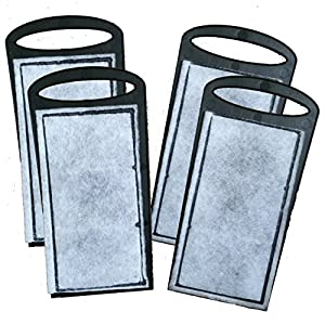 4 x replacement filter cartridges for 480l h for Amazon fish tank filter