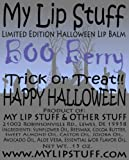 My Lip Stuff- BOO BERRY (Blueberry flavor) LIMITED EDITION HALLOWEEN LIP BALM