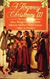 A Regency Christmas 3 (Super Regency, Signet) (0451170865) by Balogh, Mary