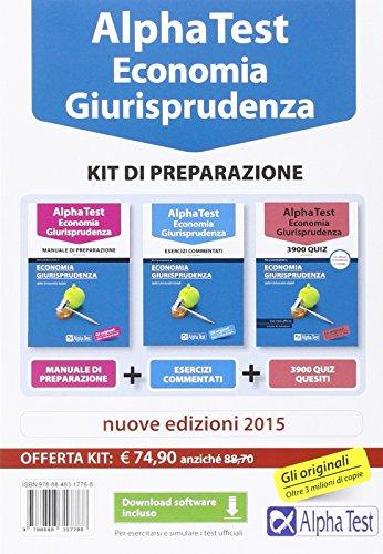 Alpha Test Economia Kit di preparazione Con software di simulazione PDF