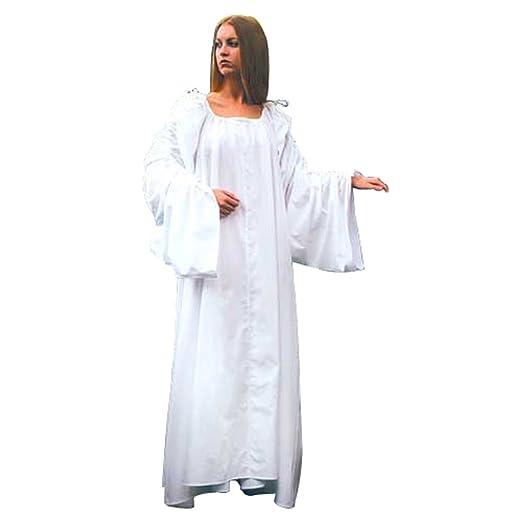 White Renaissance Celtic Chemise Costume